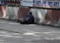 Trudne życie żebraka. W Tbilisi
