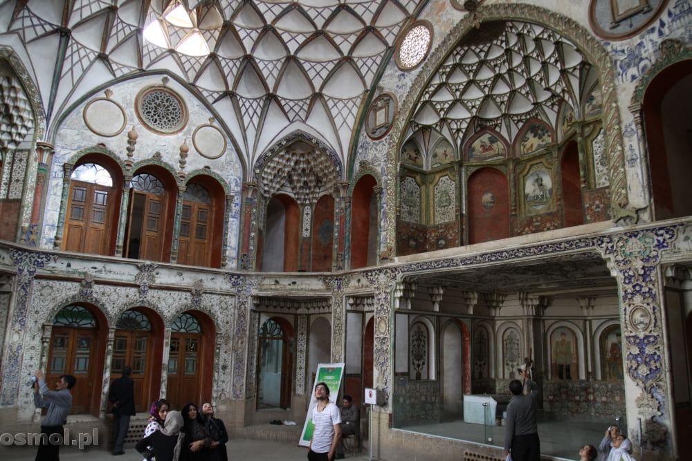 Tradycyjny dom w Kashan. Khan-e Boroujerdi.