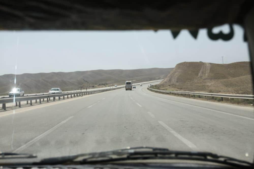Sieć autostrad w Iranie jest bardzo dobrze rozwinięta