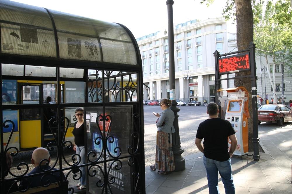 Tbilisi przystanek autobusowy