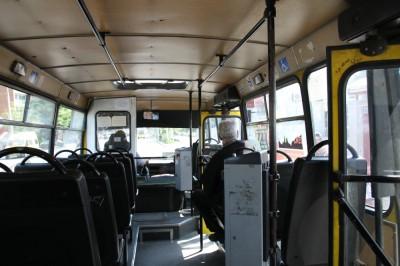 Tbilisi wnetrze autobusu