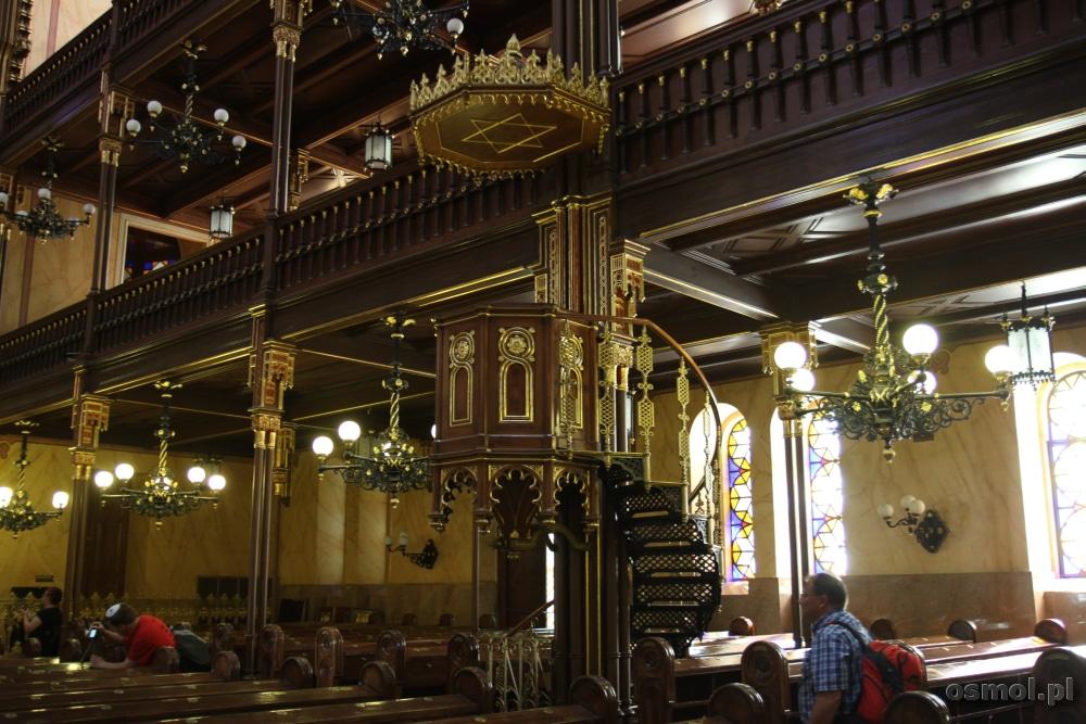 Ambona w Wielkiej Synagodze w Budapeszcie
