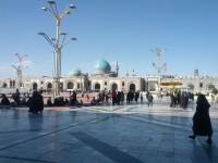 Mashad. Mauzoleum Imama Rezy - dziedziniec świątyni