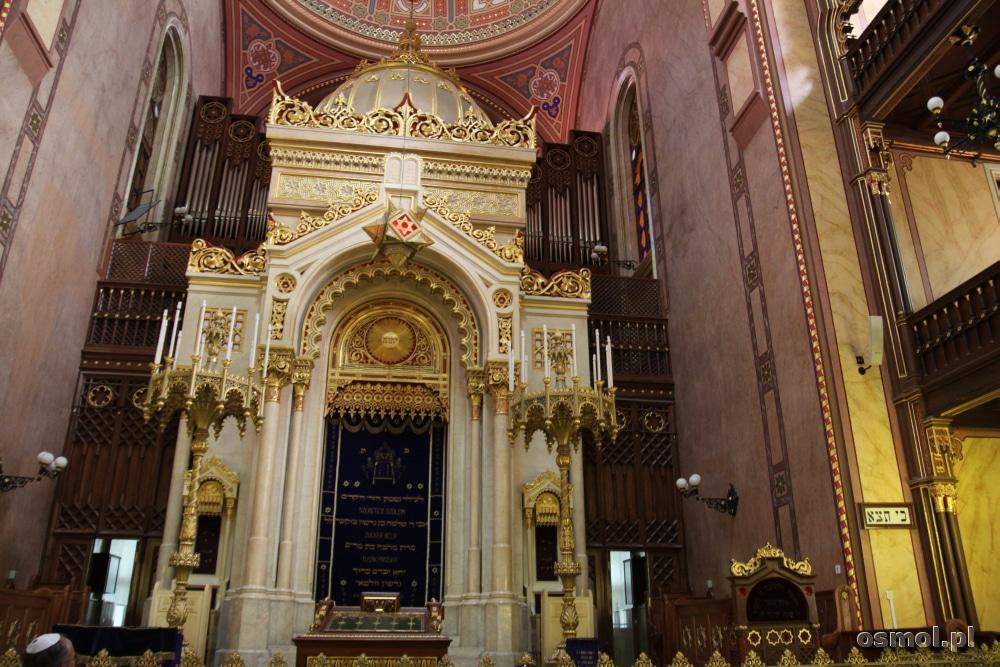 Organy w Wielkiej Synagodze w Budapeszcie