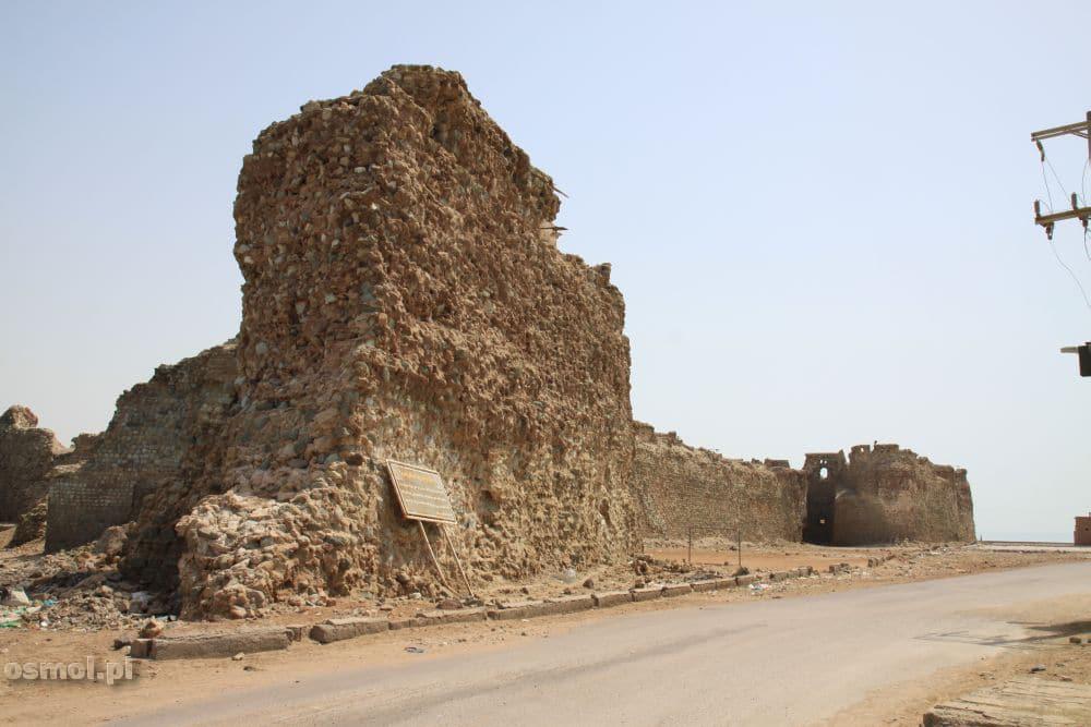 Wyspa Hormoz. Portugalski zamek