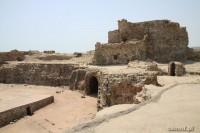 Wyspa Hormoz. Ruiny twierdzy