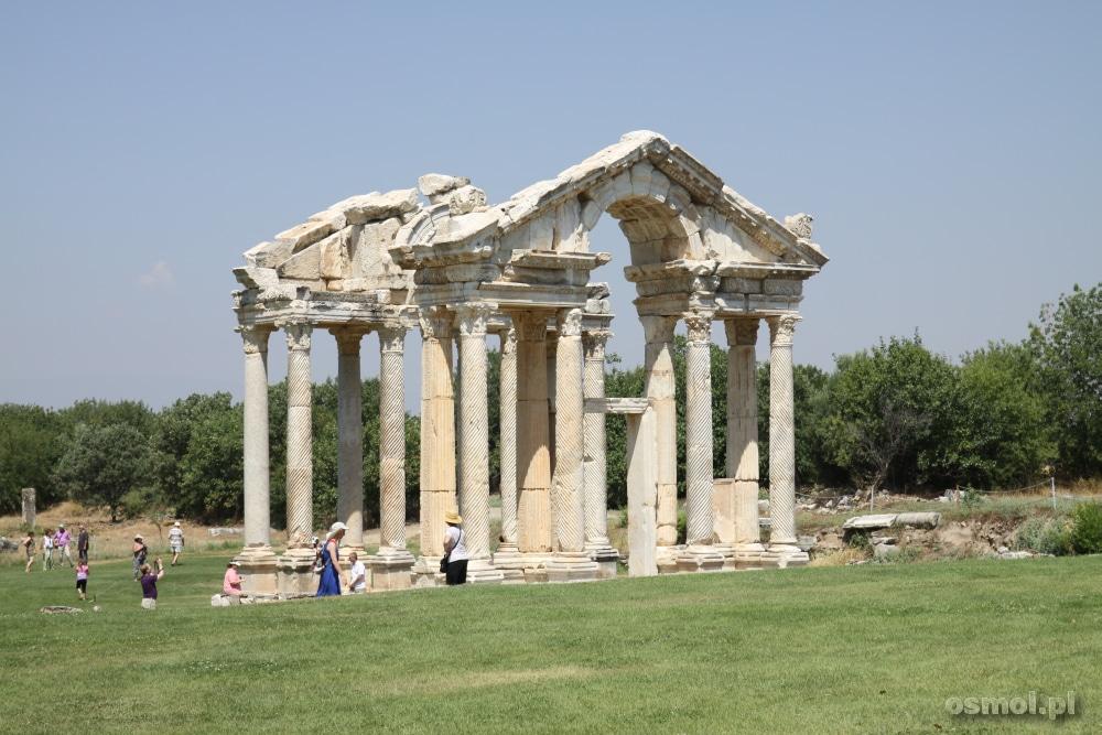 Tetrapylon w Afrodyzji. Turcja