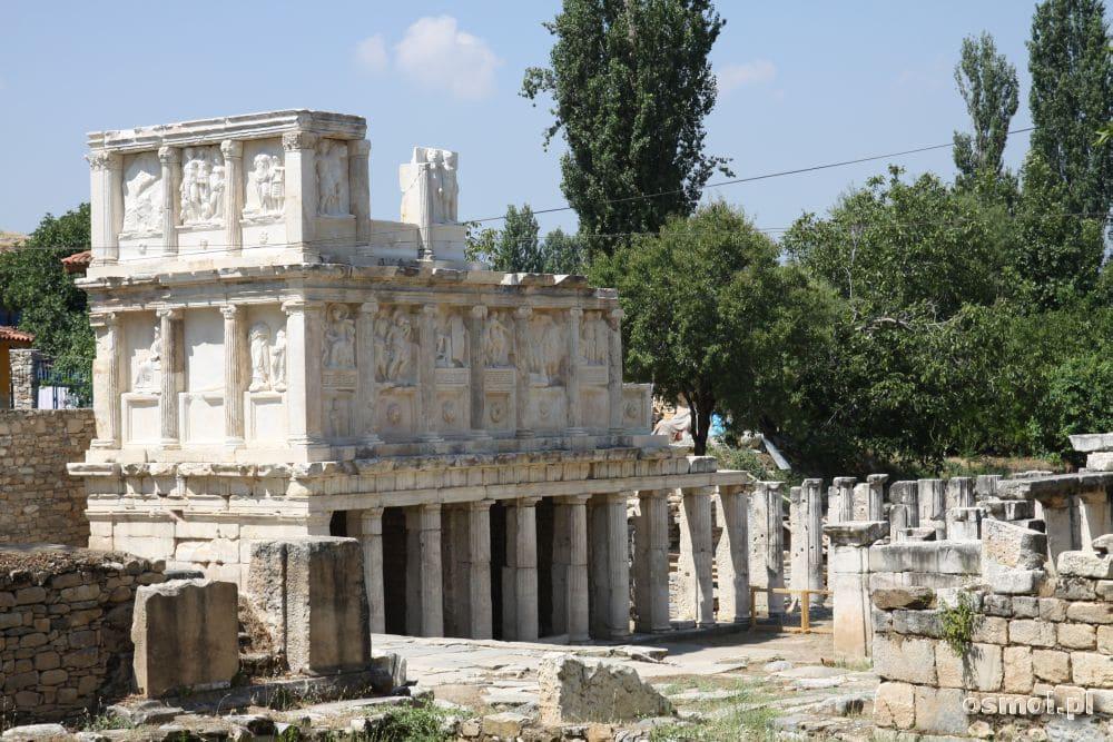 Afrodyzja ruiny sebastejonu.
