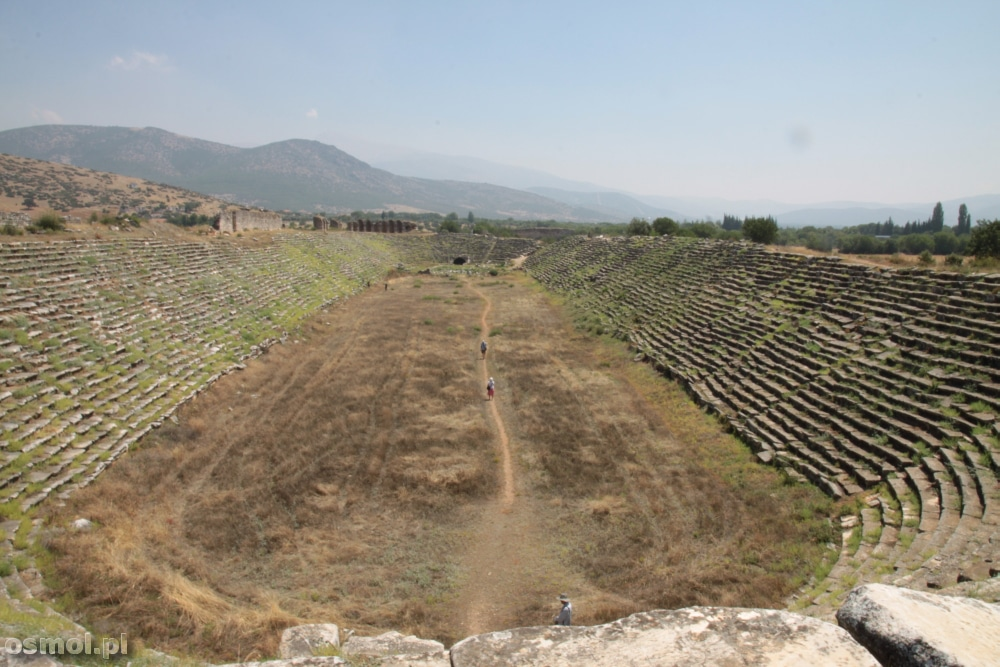 Stadion w Afrodyzji mógł pomieścić 30 tysięcy widzów