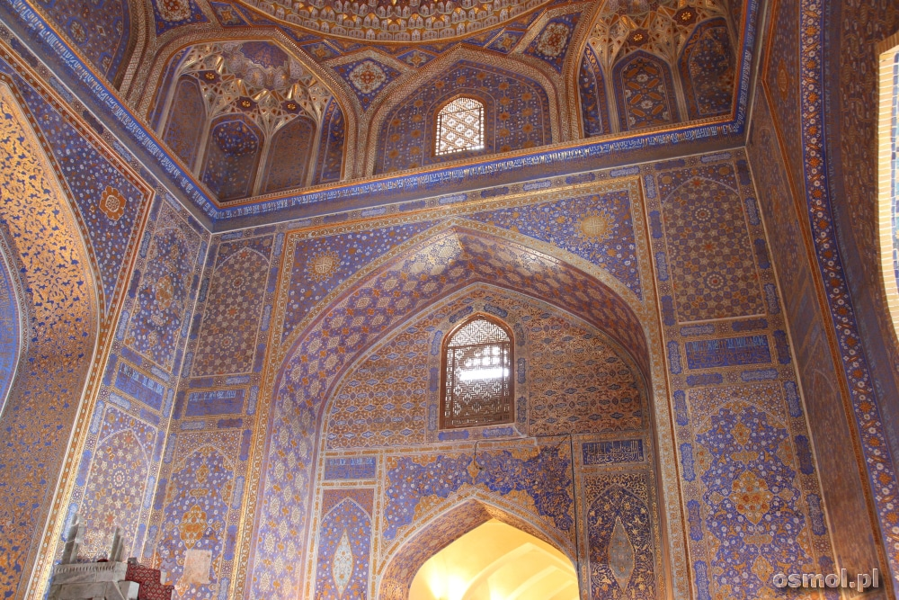 Medresa Tillja Kari Registan Samarkanda