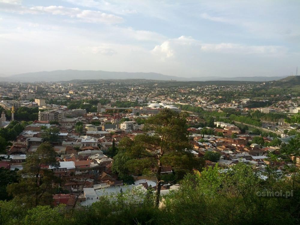 Panorama Tbilisi. Gruzja