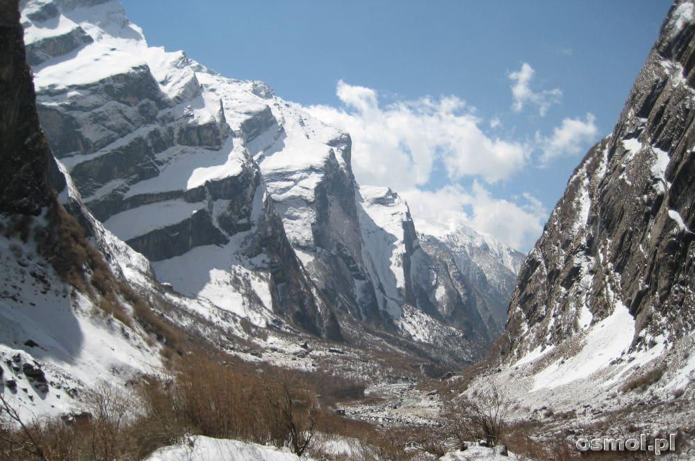 Szlak trekkingowy w Nepalu do Annapurna Base Camp