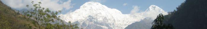 szczyt w himalajach
