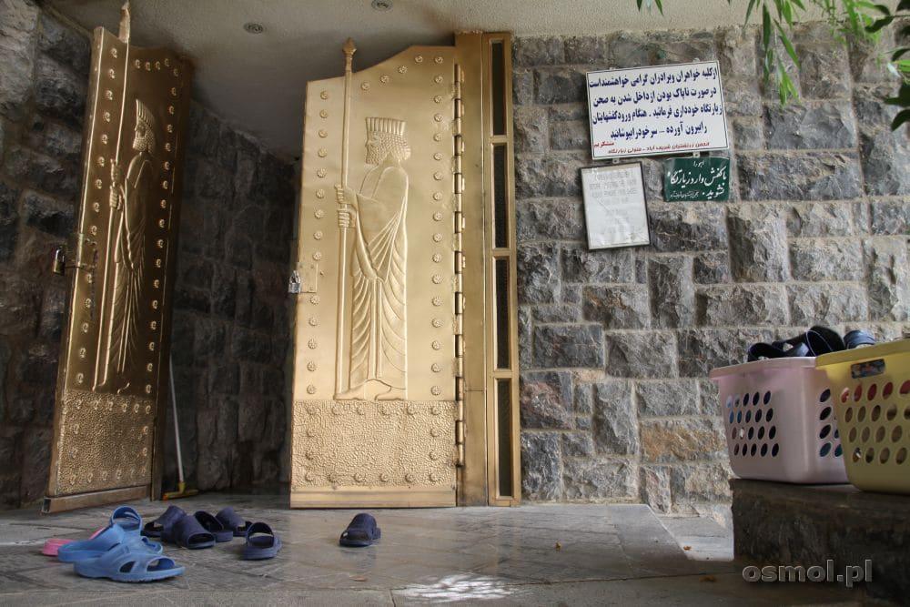 Wejście do świątyni w Czak Czak