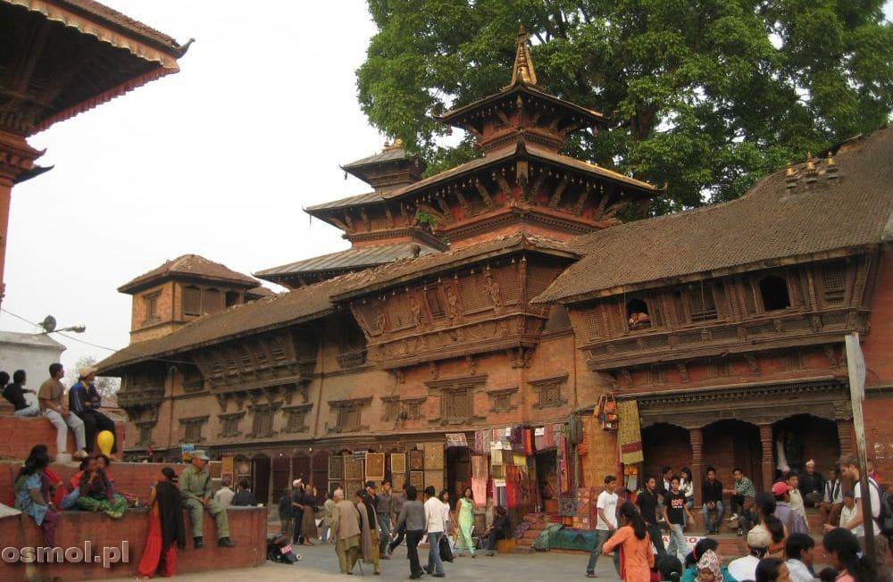 Stara część Katmandu