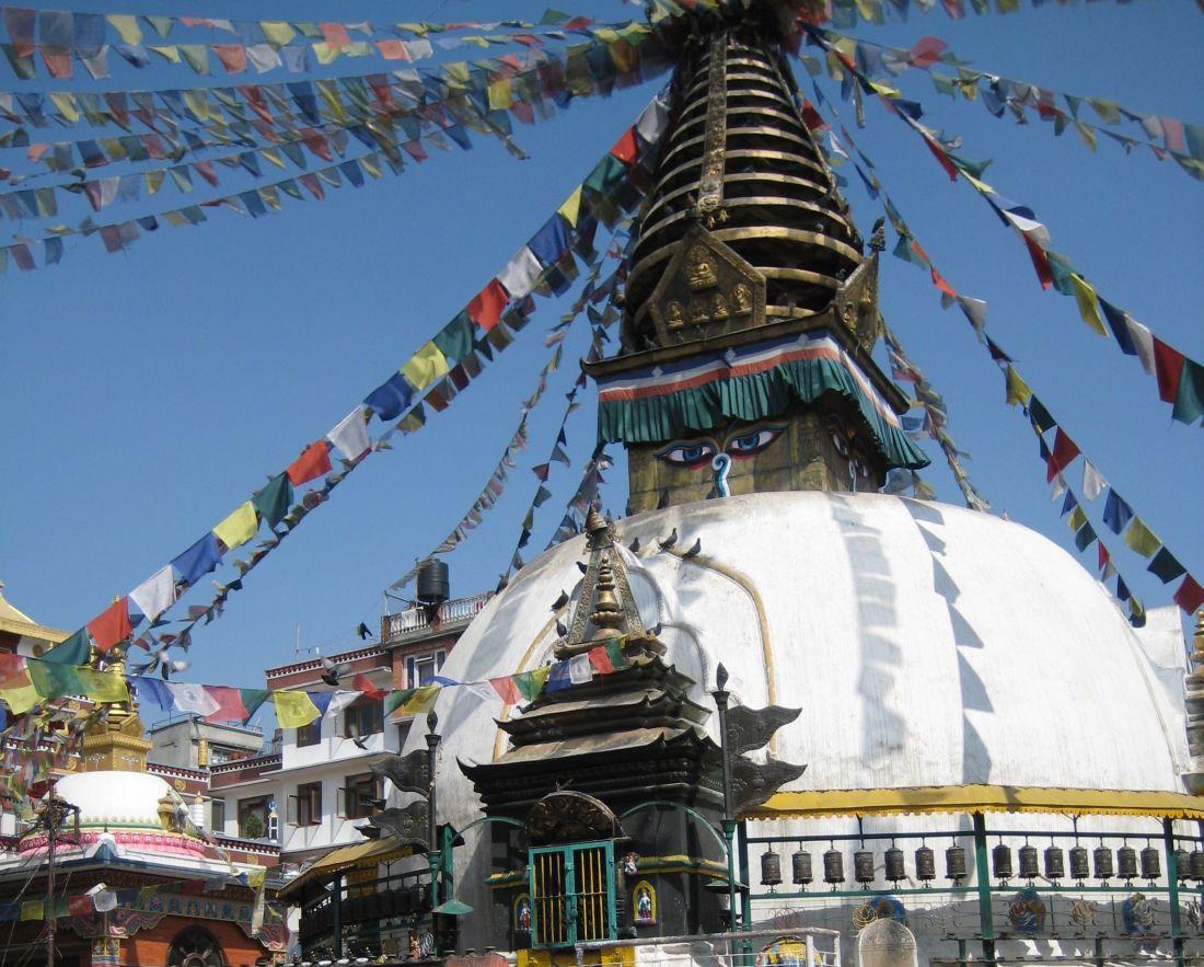Stupa w Kathmandu. Nepal