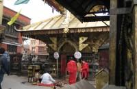 Swayambhunath w Świątyni Małp Katmandu