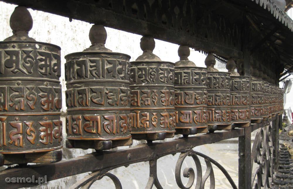 Młynki modlitewne Nepal