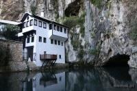 Blagaj. Miasto jednego klasztoru i rzeki z jaskini