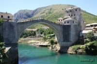 Mostar widok na Stary Nowy Most