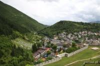 Bośnia i Hercegowina. Miasto Travnik
