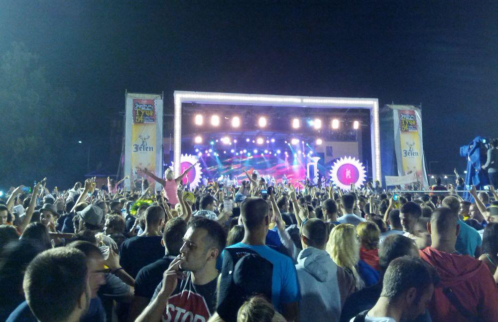 Guca - festiwal trąbki