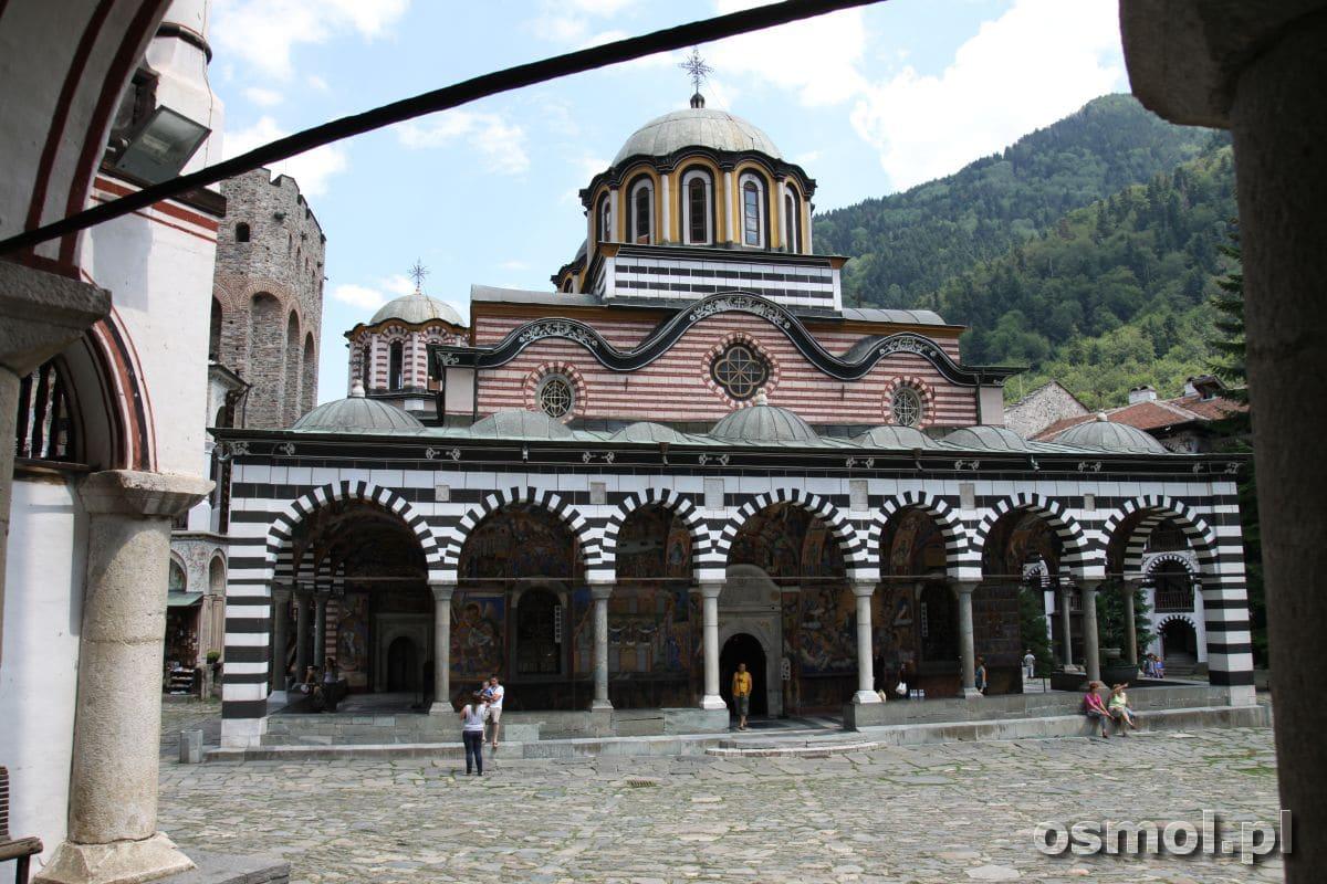 Rilski monastyr kosciol Bogurodzicy