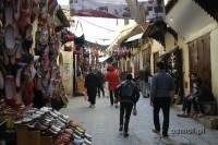 Uliczka w medynie Fezu