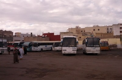 Dworzec autobusowy w Al-Dżadidzie