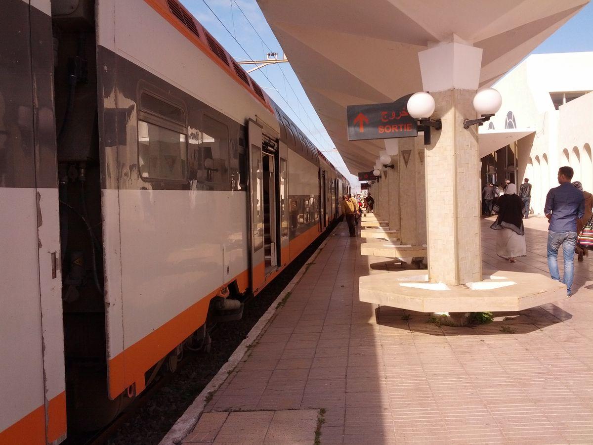 Pociąg w Maroku